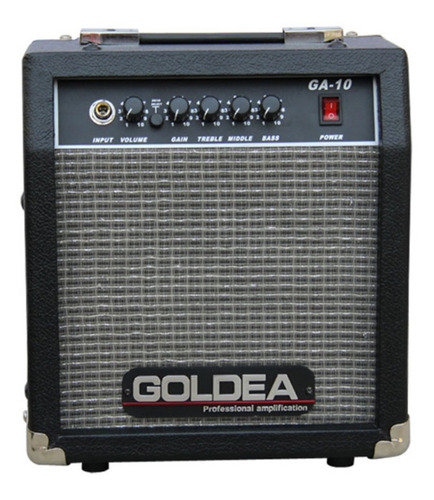 Amplificador Guitarra 10w Ga-10 Goldea