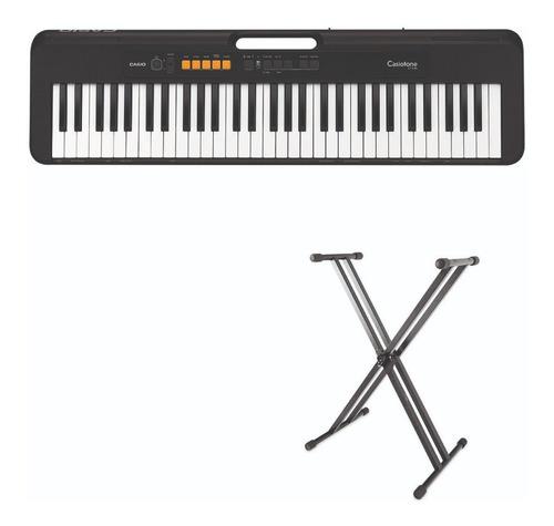 Organeta Casio Ct-s100, 5 Octavas, Con Adaptador + Base