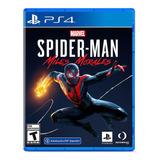 Juego Spiderman Miles Morales Ps4 Nuevo Original Fisico