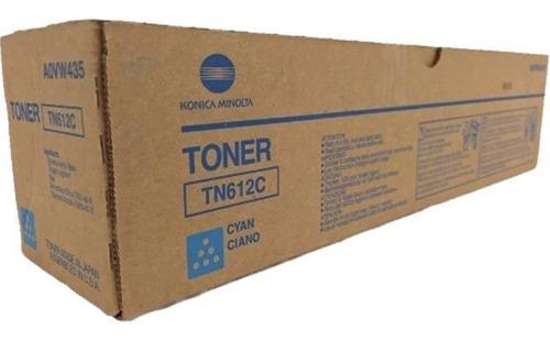 Toner Konica Tn612 Cyan Original Bizhub Pro C5501/6501
