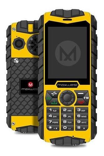Celular Maxwest Ranger 2g 2.4 Dual Sim Watter Proof Bt