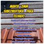 Manta Térmica E Acustica 2mm P/subcobertura Kit C/14 Mts² . Original