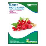 Papel Fotografico Glossy Brillante A3 De 260gr/50 Hojas