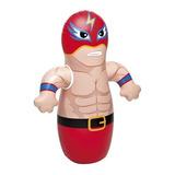 Muñeco Inflable Luchador Punching Bag Para Niño 91x72cm