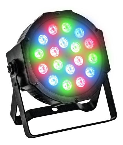 Luz Proton Par 18 Luces Dj Audioritmica Dmx Iluminacion Led
