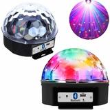 Globo Colorido Rgb Led Laser Iluminação Festa Balada Y0851