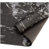 Mouse Pad Gamer Mapa De Mundo 90x40cm