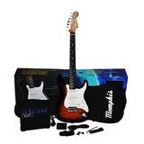 Guitarra Eléctrica Memphis Con Funda Amplificador Y Más