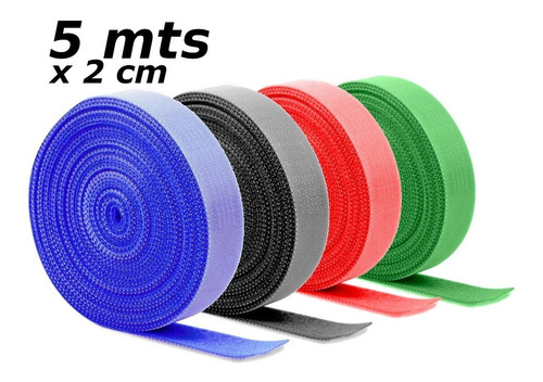 Organizador De Cables Velcro 5 Metros