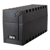Ups Trv Electronics Neo 650 650va Entrada Y Salida De 220v Negro