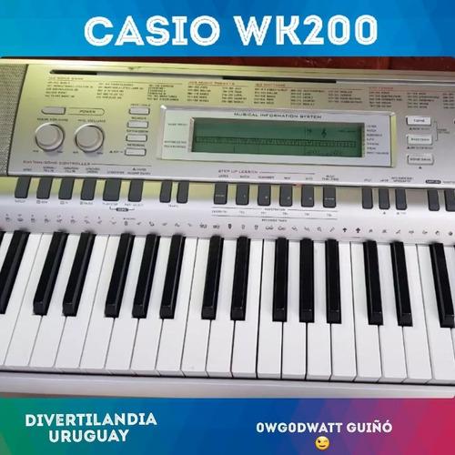 Oportunidad!! Teclado Casio Wk200 6 Octavas