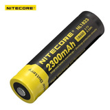 Pila Bateria 18650 Nitecore Recargable 2300 Mah Reales