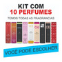 Kit C/ 10 Perfumes Lançamento Amakha Paris 12x Sem Juros Original