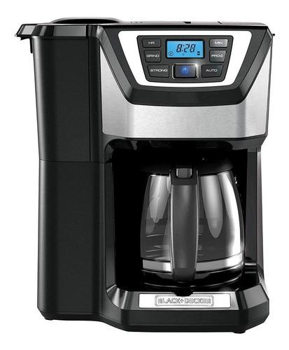 Cafetera Black+decker Mill & Brew Cm5000 Super Automática Black De Goteo 110v