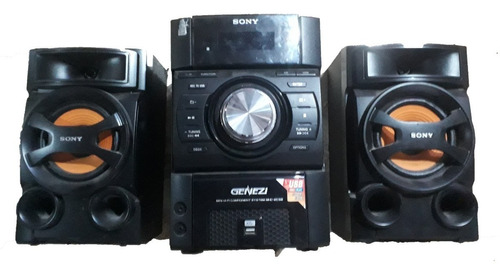 Equipo De Musica  Sony Genezi Mhc Ec 590