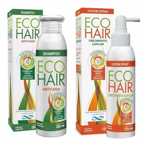 Eco Hair Shampoo Anticaída + Loción Crecimiento  Selma