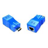 Extensor Hdmi A Hdmi Para Cable Cat5e/6 Rj45 1080p 30m