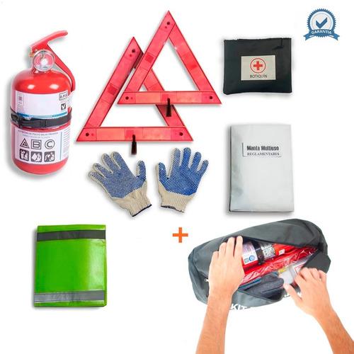 Kit De Seguridad Para Auto 7 En 1 Premium Tarjeta Patente