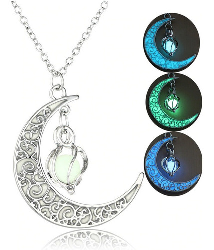 Collar Luna Lágrima Luminoso Glow Mujer Game Of Thrones