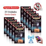 25un. Antena Booster Ampl. De Señal Celular Gsm 3g 4g Bam