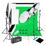 Kit Fotográfico Softbox Set Fotografia Estudio Iluminación