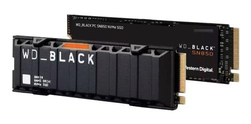 Disco Solido M.2 Nvme Wd Black Ssd 2tb  Heatsink Sn850