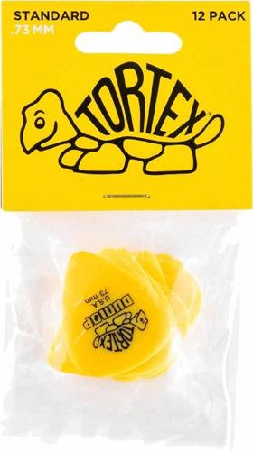 Set De Uñetas Dunlop Tortex 073 Pack De 12