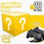Luminária Retrô Com 20 Mil Jogos + 2 Controles Analógicos Original
