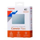 Disco Duro Externo Toshiba 4tb Canvio Flex 3.2 | Lifemax