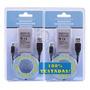 Kit 2 Baterias Controle Playstation 3 Ps3 + Cabo Usb e Original