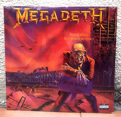 Megadeth - Vinilo Color Peace Sells (nuevo Ed. Limitada)