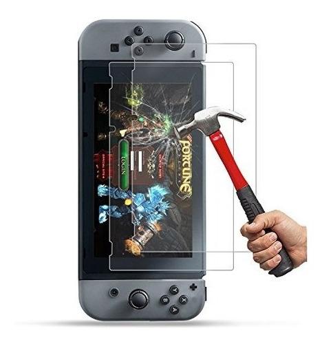 Pack De 2 Vidrios Templados Premium Nintendo Switch + Envio