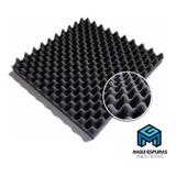 Espuma Acústica Antichamas  C. O.  10 Placas- 50 X 50 X 2cm