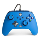 Control Joystick Powera Enhanced Wired Controller For Xbox Series X|s Blue