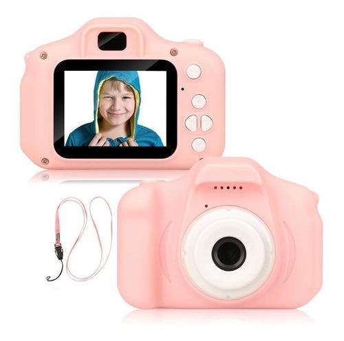 Cámara Digital Niños Fotos Y Video Memoria Expandible