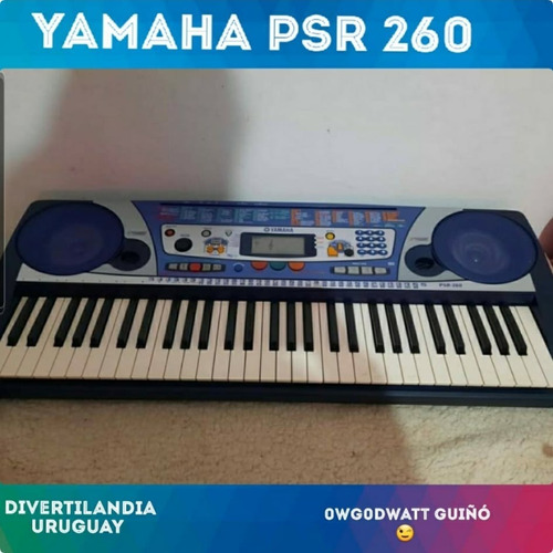 Oportunidad!! Teclado Yamaha Psr 260 Con Sensibilidad