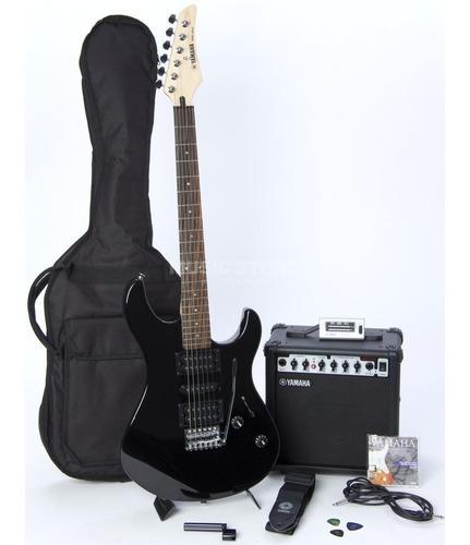 Kit De Guitarra Yamaha Erg121gpii Con Amplificador Estuche +
