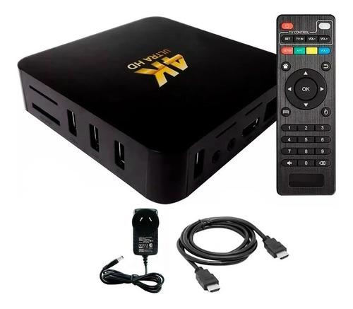 Convertidor Smart Tv Convertir Tv Box Android Hd 4k Usb