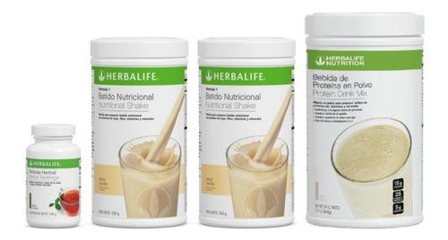 2 Batido 550gr + Proteina Pdm 616gr + Te Herbal 102gr