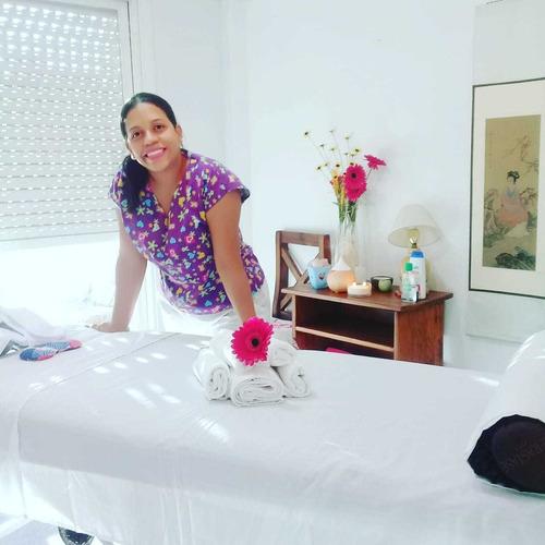 Masajes Terapéuticos Descontracturantes Profesionales