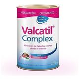 Valcatil Complex Nutricion Cabellos Uñas En Polvo Lata 260gr