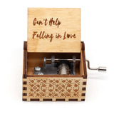 Caja Musical Elvis Can't Help Falling In Love Regalo Amor