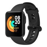 Xiaomi Mi Watch Lite 1.4  Caixa  Black Pulseira  Black De  Tpu Redmiwt02