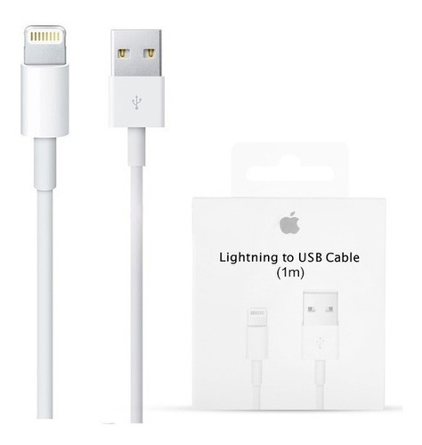 Cable Usb Cargador Original Ligthning iPhone Apple Store