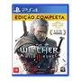 The Witcher 3 Ps4 Mídia Física Wild Hunt Edição Completa Original