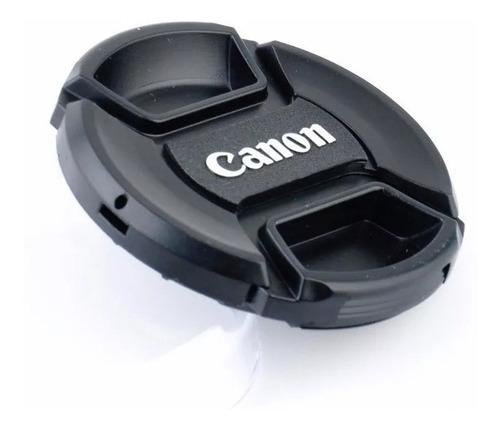 Tapa Lente Canon 49mm 52mm 55mm 58mm 62mm 67mm 72mm 77mm 82m