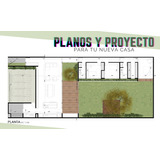 Planos De Casas Proyecto Diseño Arquitecto Construcción