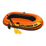 Bote Inflable Explorer 3 Personas Intex, Acuarela