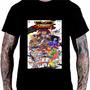 Camiseta Camisa Poster Jogo Street Fighter Ps2 Ps3 Ps4  K34 Original