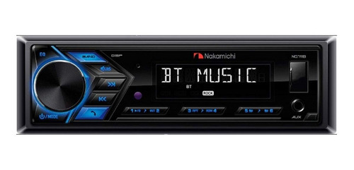 Radio De Auto Nakamichi Nq711b Con Usb Y Bluetooth